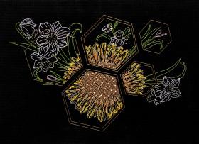 Набор для вышивки в смешанной технике Солнечная весна  Абрис Арт АН-121 - 236.00грн.
