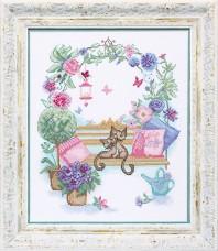 Набор для вышивки крестом Свидание Cristal Art ВТ-110