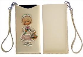 Чехол для телефона для вышивки бисером Девочка