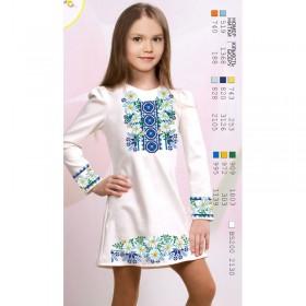 Заготовка для вышивки платья на льне Ромашки с орнаментом Biser-Art 1629 - 380.00грн.