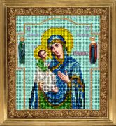 Набор для вышивки ювелирным бисером Икона Иерусалимская