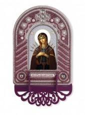 Набор для вышивки иконы с рамкой-киотом Богородица Семистрельная Новая Слобода (Нова слобода) ВК1026