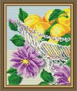 Набор для выкладки алмазной мозаикой В хрустале. Абрикосы Диптих 1