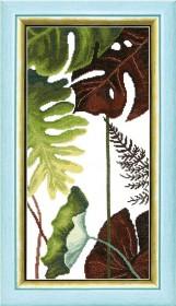 Набор для вышивания крестом Crystal Art Триптих Сквозь жаркие тропики Cristal Art ВТ-167 - 207.00грн.