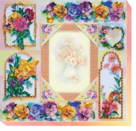 Набор для вышивки бисером Фоторамка Цветочная история Абрис Арт АР-003 - 416.00грн.