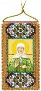 Набор - оберег для вышивки бисером Молитва к святой Матроне (укр. яз)