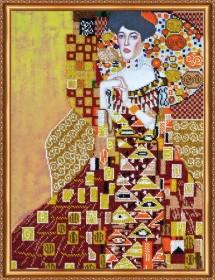 Набор для вышивки бисером Золотая Адель