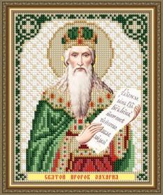 Схема вышивки бисером на авторской канве Святой Пророк Захария Art Solo VIA5313 - 25.00грн.
