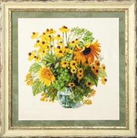 Набор для вышивания в смешанной технике  Солнечный букет, , 428.00грн., М-213, Чарiвна мить (Чаривна мить), Цветы
