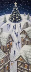 Набор для вышивки крестиком Рождественские огни Чарiвна мить (Чаривна мить) М-470 - 332.00грн.