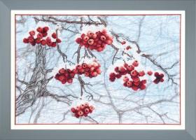 Набор для вышивки крестом Зимний набросок