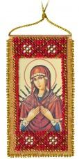 Набор для вышивки бисером Молитва о сохранение дома (укр. яз.)