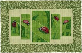 Набор для вышивки бисером Небесные посланники, , 1 328.00грн., 40712, Краса и творчiсть, Картины из нескольких частей