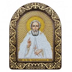 Набор для вышивки икон в рамке-киоте Св. Прп. Сергий Радонежский