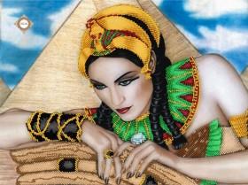 Схема для вышивки бисером на атласе Тайны пирамид