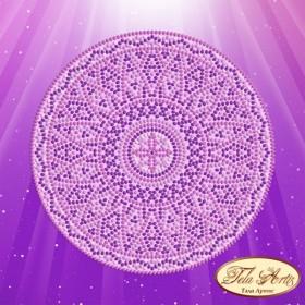Схема вышивки бисером на атласе Сиреневый свет Tela Artis (Тэла Артис) МА-004 ТА - 50.00грн.