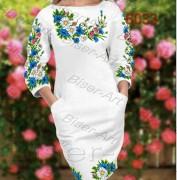 Платье Большего размера габардин