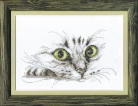 Набор для вышивки крестиком Взгляд кота