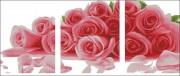 Схема вышивки бисером на атласе Триптих Розы