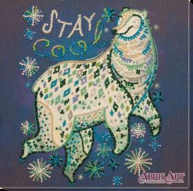Набор для вышивки бисером на холсте Счастливый Абрис Арт АМВ-051 - 219.00грн.