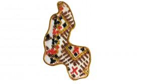 Набор - магнит для вышивки бисером Карта Украины Сумская область, , 56.00грн., АМК-018, Абрис Арт, Украина