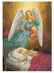 Схема для вышивки бисером на габардине Ангел-Хранитель Акорнс А4-К-866 - 50.00грн.