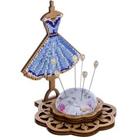 Игольница набор для вышивки бисером Платьице Волшебная страна FLK-285 - 200.00грн.