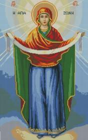 Набор для выкладки алмазной мозаикой Покрова Святой Богородицы Алмазная мозаика DM-392 - 1 100.00грн.