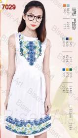 Заготовка женского льняного платья для вышивки бисером Biser-Art Bis7029 - 400.00грн.