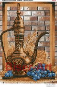 Схема вышивки бисером на габардине Натюрморт Biser-Art 30х40-545 - 66.00грн.