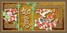Схема вышивки бисером на габардине Исполнение желаний