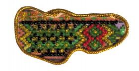 Набор - магнит для вышивки бисером Карта Украины Закарпатская область, , 40.00грн., АМК-007, Абрис Арт, Украина