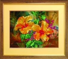 Схемы для вышивания бисером на авторской канве Цветы Чарiвна мить (Чаривна мить) СБ-226