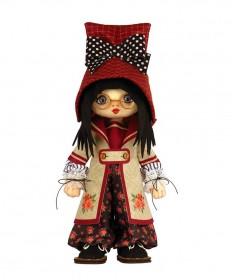 Набор для шитья куклы Девочка Швеция Zoosapiens К1086Z - 525.00грн.