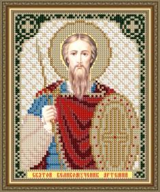 Схемы вышивки бисером на авторской канве Святой Великомученик Артемий Art Solo VIA5182 - 25.00грн.