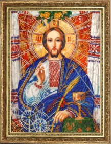 Набор для вышивки бисером Христос Спаситель (по картине А. Охапкина) Баттерфляй (Butterfly) 817Б - 365.00грн.