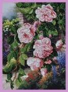 Набор для вышивки бисером Цветы в саду