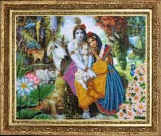 Набор для вышивки бисером Кришна и Радха Баттерфляй (Butterfly) 473Б