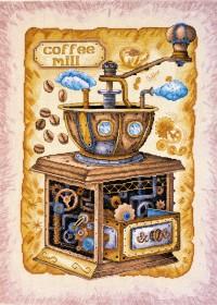 Набор вышивки крестом Кофе в зернах, , 658.00грн., АН-040, Абрис Арт, Натюрморты