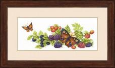 Набор для вышивки крестом Урожай ягод Cristal Art ВТ-122