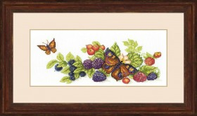 Набор для вышивки крестом Урожай ягод