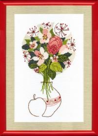 Набор для вышивания крестом Цветение яблони