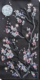 Набор для вышивки бисером Ночная сакура Абрис Арт АВ-762 - 325.00грн.