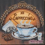 Набор-миди для вышивки бисером на натуральном художественном холсте Кофе и шоколад