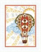 Набор для вышивания крестом Путешествие в облаках