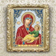 Рисунок на ткани для вышивки бисером Богородица Муромская Art Solo VIA4260