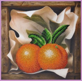 Набор для вышивки бисером Апельсин Картины бисером Р-385 - 220.00грн.