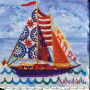 Набор-миди для вышивки бисером на холсте Попутный ветер