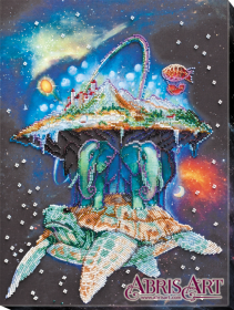 Набор для вышивки бисером на холсте Вселенная