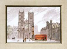 Набор для вышивки крестом Лондон. Вестминстерское аббатство  Cristal Art ВТ-086